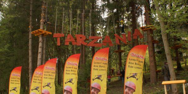 Tarzánia lanový park / Tarzania rope park