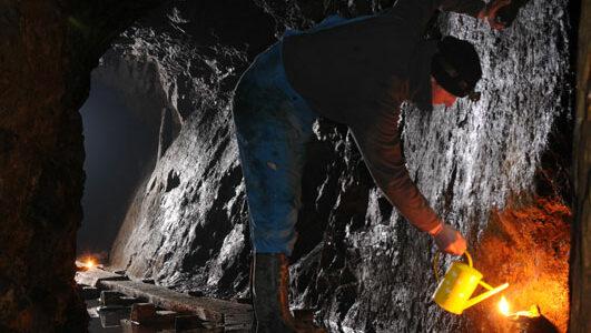 Banské dielo Medvedia štôlňa / Mining work Medvedia štôlňa